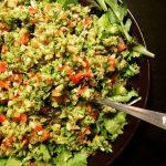 Brokkoli-Paprika-Salat